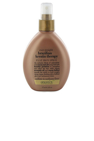 Organix Ever Straight Brazilian Keratin Therapy Flat Iron Spray