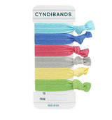 CyndiBands Gift Card Set of 6 Hair Ties To You From Me 1 ea
