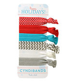CyndiBands Holiday Gift Card with 6 Hair Ties Aneira 1 ea
