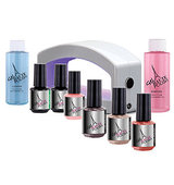Gel Haute Polish Elite LED Starter Kit with Gel Polish Trio Every Day Essentials 1 ea
