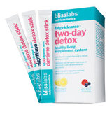 blisslabs nutricosmetics fatgirlcleanse two day detox