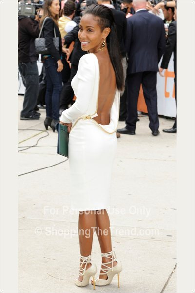 TIFF Fashion: Jada Pinkett Smith in Tom Ford - 'Free Angela and All Political Prisoners'