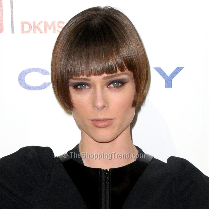 Coco Rocha new bob with bangs - a fresh new hairstyle!