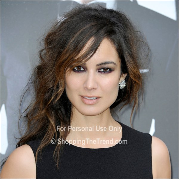Berenice Marlohe hair & makeup - 'Skyfall' Paris photocall