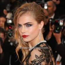 Cara Delevingne hair & makeup - Cannes 2013 Opening Ceremony