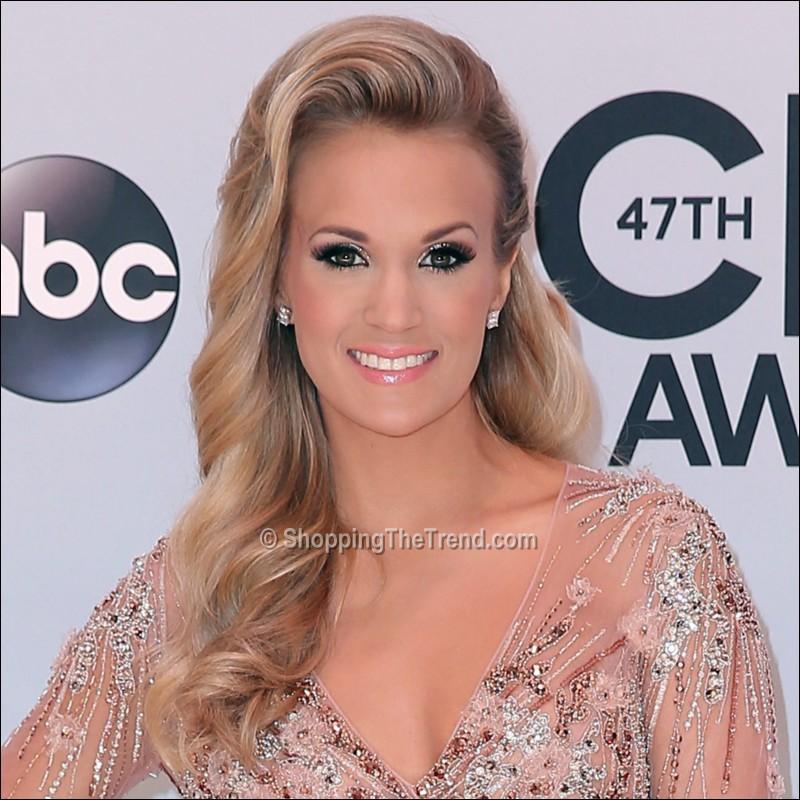 Underwood hair & makeup - 2013 CMA Awards Red Carpet