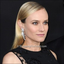 Diane Kruger hairstyle & makeup - 'The Host' Los Angeles Premiere