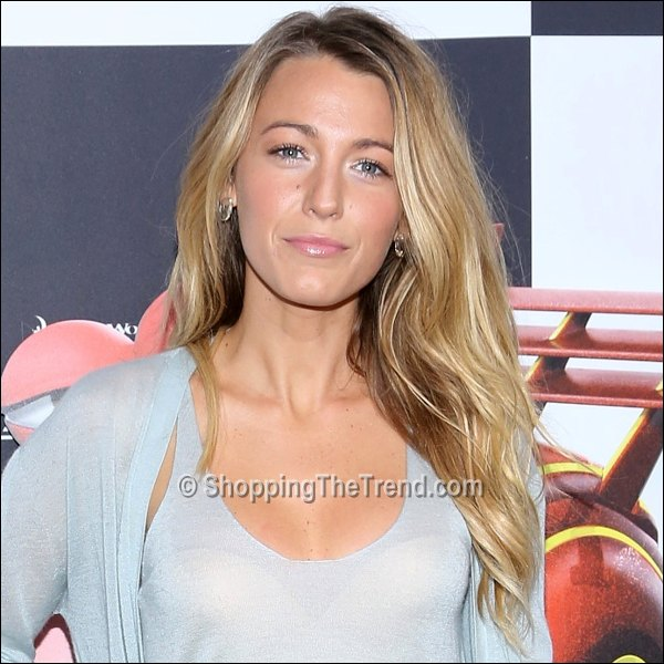 Blake Lively Hair Makeup Turbo New York Premiere