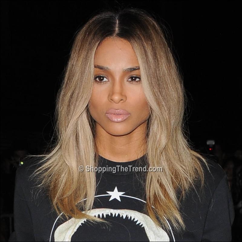 Blonde hair at givenchy show paris fashion week ciara blonde hair at givenchy show paris fashion week urmus Choice Image