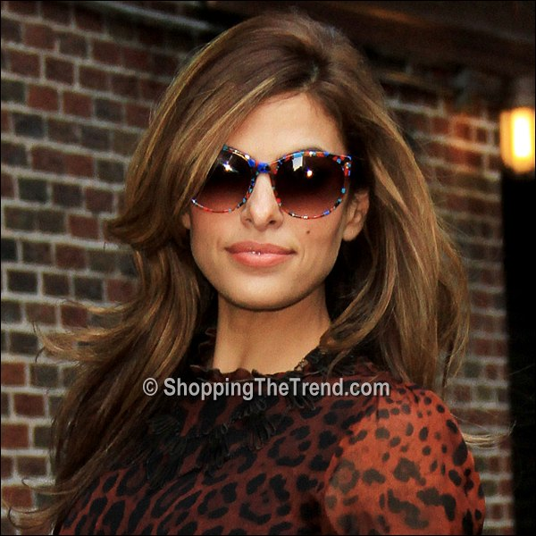 Eva Mendes Hairstyle Amp Makeup The Late Show With David
