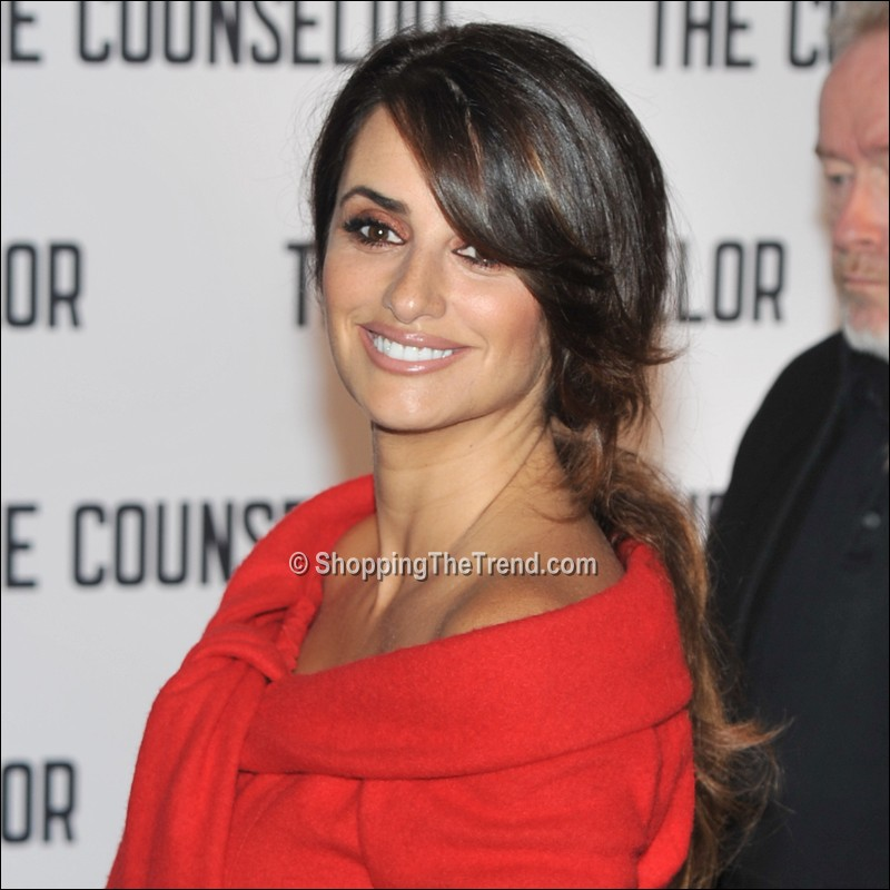 Penelope Cruz Hairstyle Counselor London