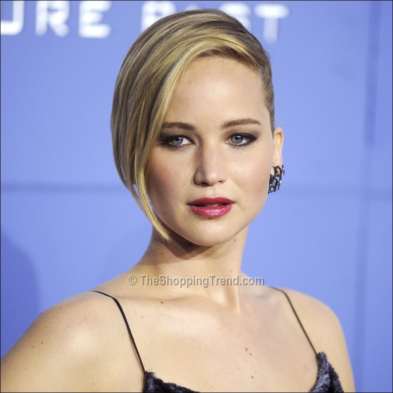 Jennifer Lawrence hairstyle at the 'X-Men' NYC Premiere