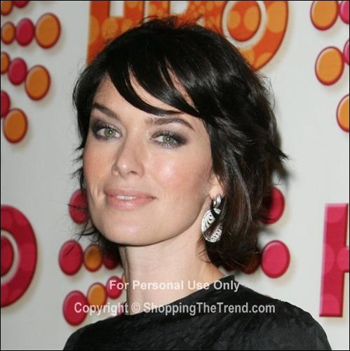 Lena Headey Hairstyle 2011 Primetime Emmy Awards