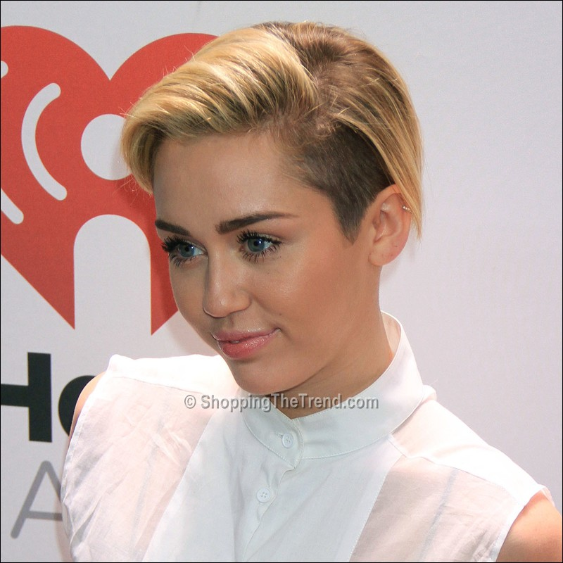Miley Cyrus Short Hair At Z100 S Jingle Ball 2013