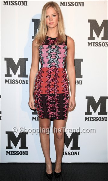 Erin Heatherton Hibiscus Print Dress M Missoni Is For Music Summer Event