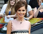 Cheryl pink dress X Factor Auditions