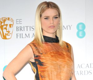 Alice Eve in Fendi - 2013 BAFTA Nominations