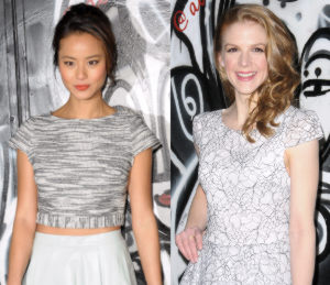 Jamie Chung & Ashley Bell - alice + olivia New York Fashion Week
