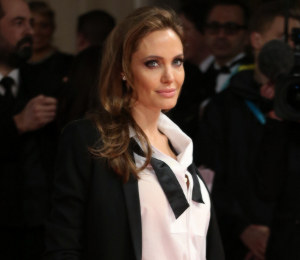 Angelina Jolie Saint Laurent tuxedo at the BAFTAs - get the look!