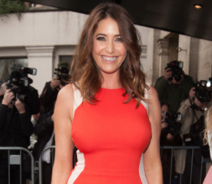 Lisa Snowdon Stella McCartney dress - TRIC Awards