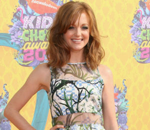 Jayma Mays Timo Weiland floral dress - Kids' Choice Awards 2014