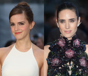 Emma Watson & Jennifer Connelly stun at 'Noah' UK Premiere!