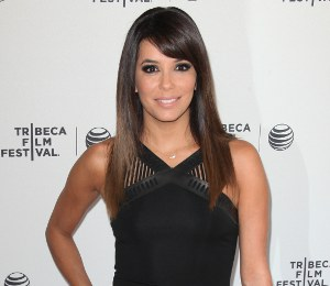 Eva Longoria David Koma LBD - gorgeous at Tribeca Film Festival