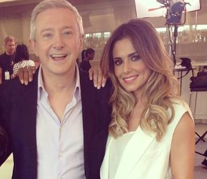 Cheryl Cole Alexander Wang cream vest at X Factor Auditions