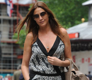 Lisa Snowdon DvF jumpsuit seen on Heidi Klum - get the look!