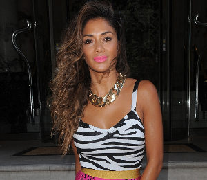 Nicole Scherzinger in Celeb Boutique