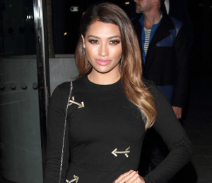 Vanessa White Carven dress & Moschino Barbie clutch at Mondrian Hotel - get the look!