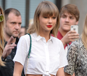 Taylor Swift in Haute Hippie