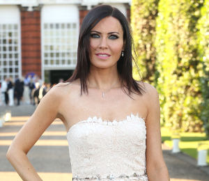 Linzi Stoppard lace dress at Wimbledon Party by Notte Marchesa - get the look!
