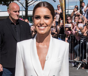Cheryl in Adam Lippes white blazer dress at X Factor Auditions - get the look!