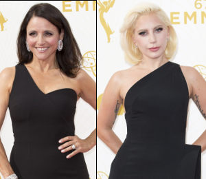 Julia Louis Dreyfus and Lady Gaga in SAFiYAA
