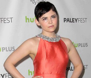 Shop Ginnifer Goodwin Raoul coral dress - Paleyfest 'Once Upon A Time'