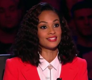 Shop Alesha Dixon Carven red suit - BGT Auditions April 20