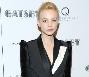 Carey Mulligan in Lanvin jacket - Pre-Met Ball 'Great Gatsby'