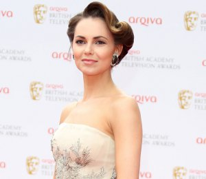Kara Tointon in Dennis Basso - BAFTA TV Awards 2013