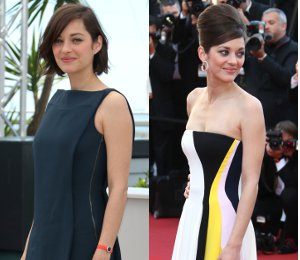Marion Cotillard at Cannes in Antonio Berardi & Christian Dior - 'Blood Ties'