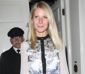 Gwyneth Paltrow in Prabal Gurung dress - Goop party at Mark's Club
