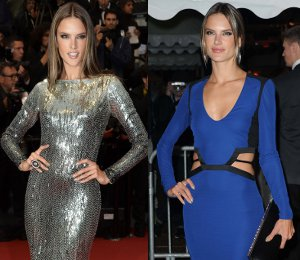 Alessandra Ambrosio in Roberto Cavalli at Cannes - 'All Is Lost' & yacht party