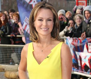 Shop Amanda Holden Versace yellow dress - BGT Auditions Cardiff
