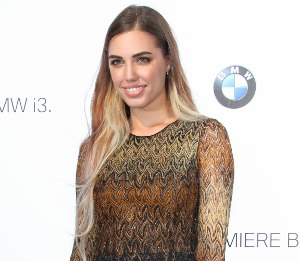 Amber Le Bon in Missoni - BMW i3 global reveal party
