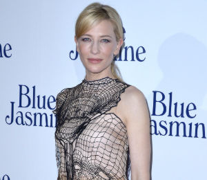 Cate Blanchett in Christopher Kane - 'Blue Jasmine' Paris Premiere