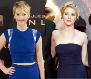 Jennifer Lawrence in Alexander McQueen & Christian Dior - 'Catching Fire' Madrid