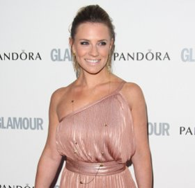 Image showing Buy Georgie Thompson Halston Heritage pleated dress online @ Glamour Women of the Year Awards 2011