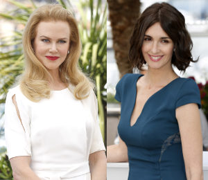 Nicole Kidman & Paz Vega at Cannes 'Grace of Monaco' Photocall