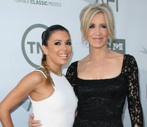Eva Longoria & Felicity Huffman - Desperate Housewives reunion at AFI Event