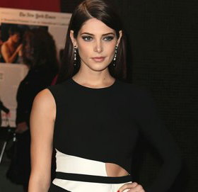 Image showing Ashley Greene in Narciso Rodriquez red dress in Toronto & Donna Karan in New York @ Twilight Breaking Dawn - Part I